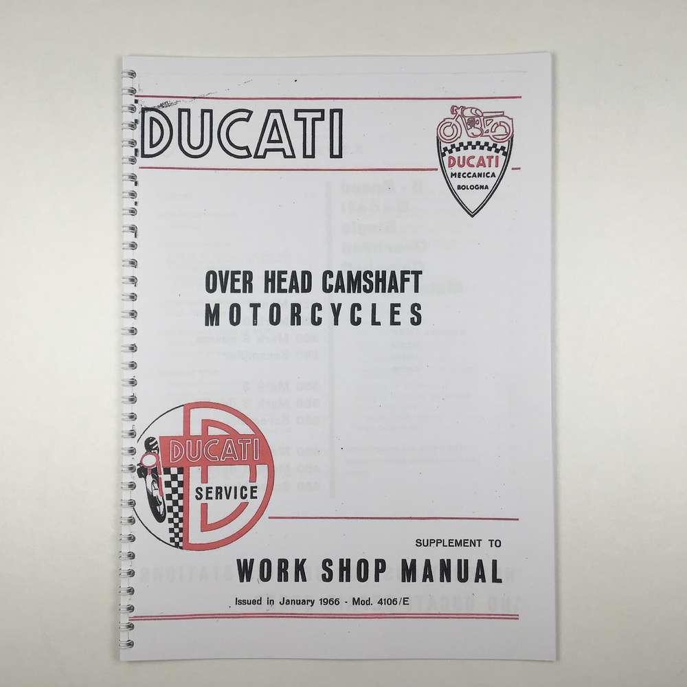 Ducati Workshop Manual wide case supplement