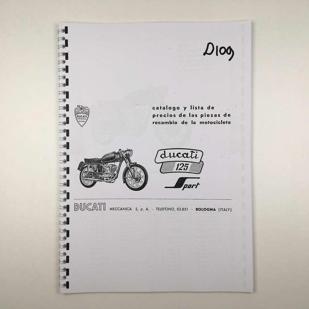 Ducati 125 Sport Parts catalogue