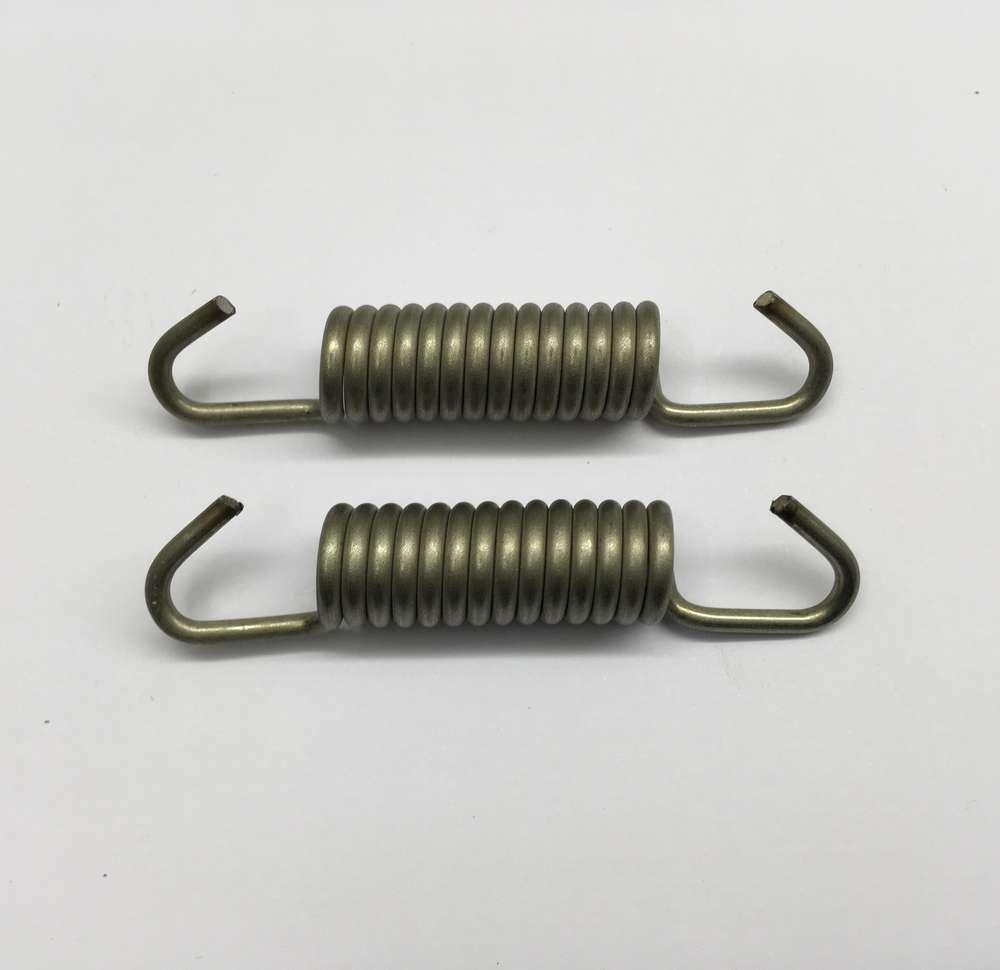 Rear brake shoe springs