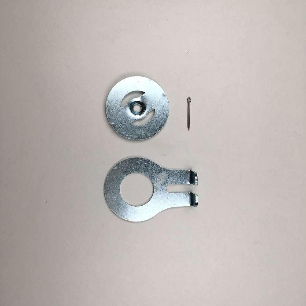 Damper anchor plates  (wide case)