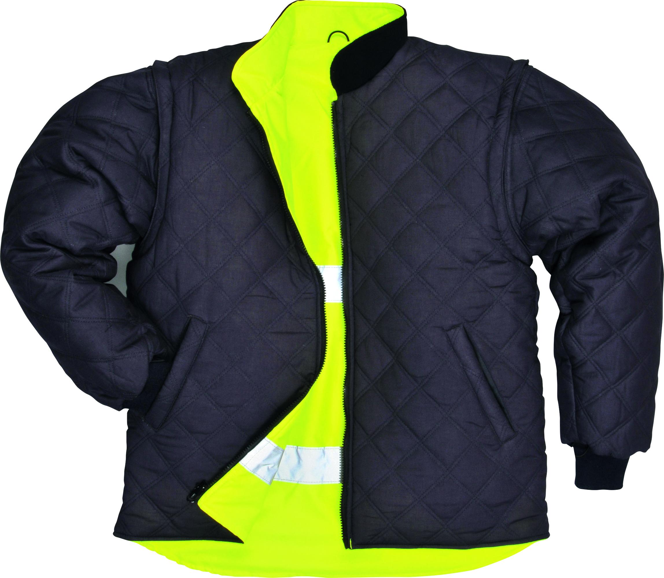 Hi-Vis 7-in-1 Traffic Jacket