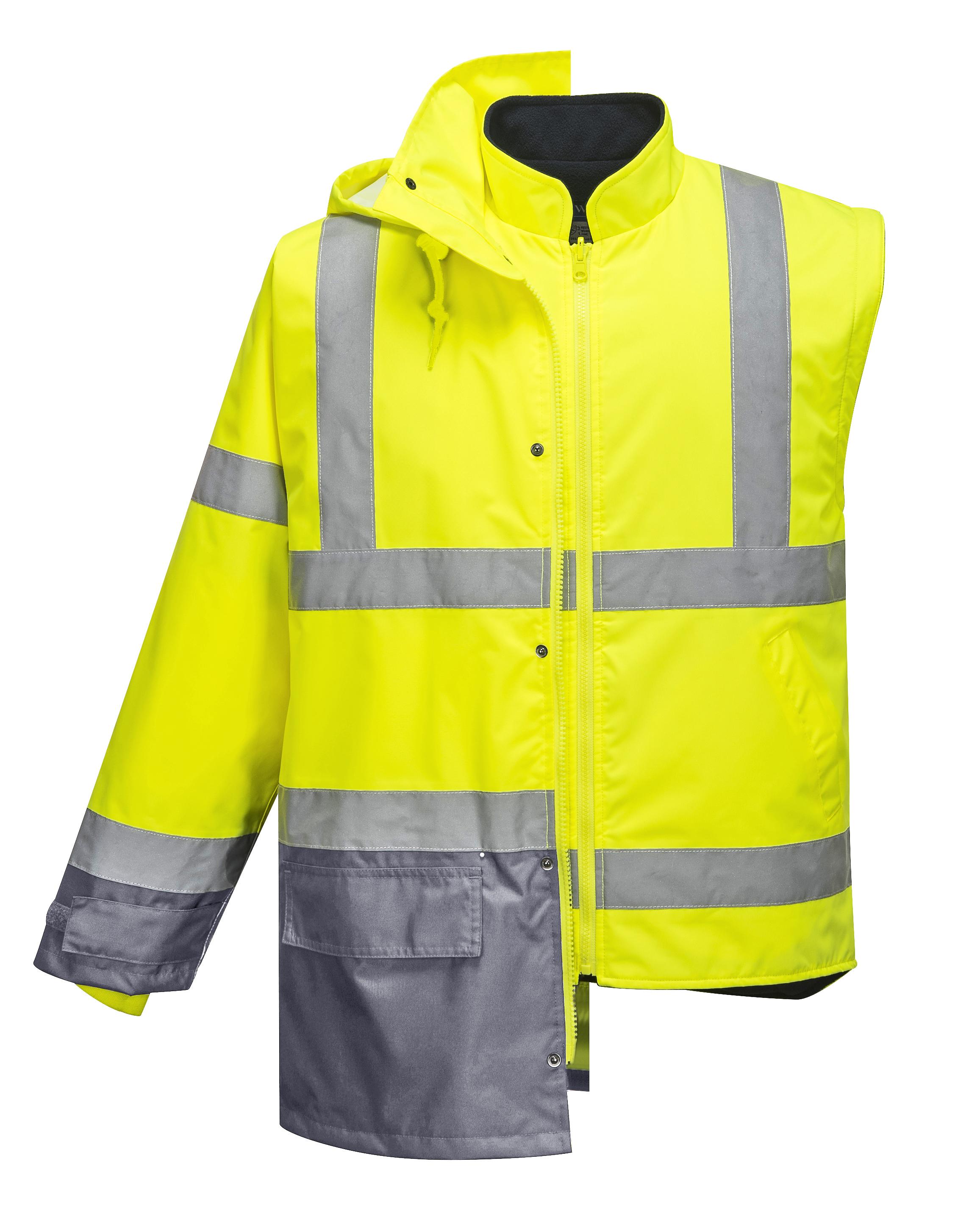 S768 Hi-Vis Executive 5-in-1 Jacket