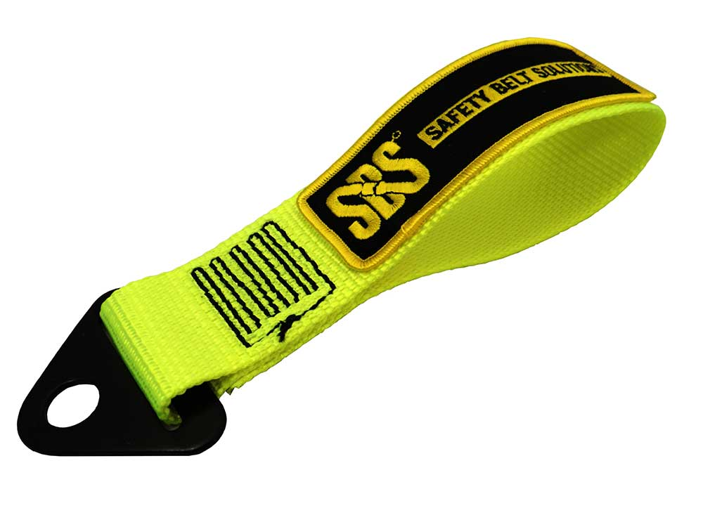 Tow Strap - Yellow - With Sbs Flash