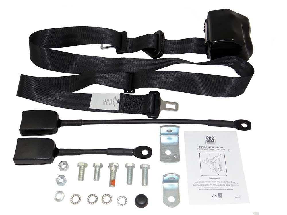 3 Point Wheelchair Occupant Seat Belt Kit