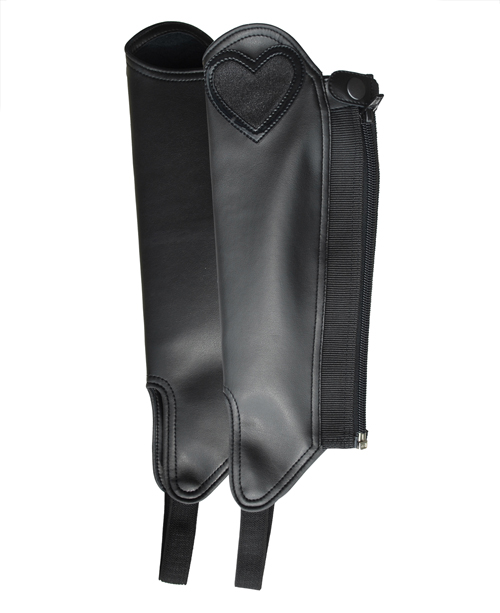 Childrens Synthetic Gaiter With Heart Detail