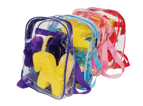 Junior Grooming Kit Backpack