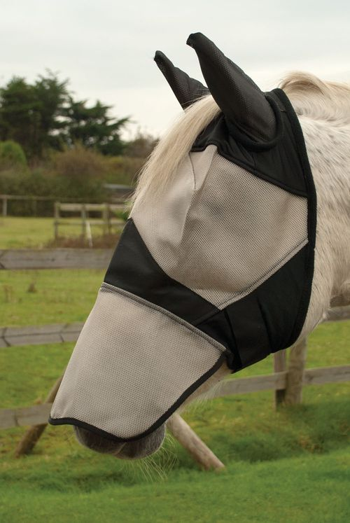 Fly Mask With Ears And Nose