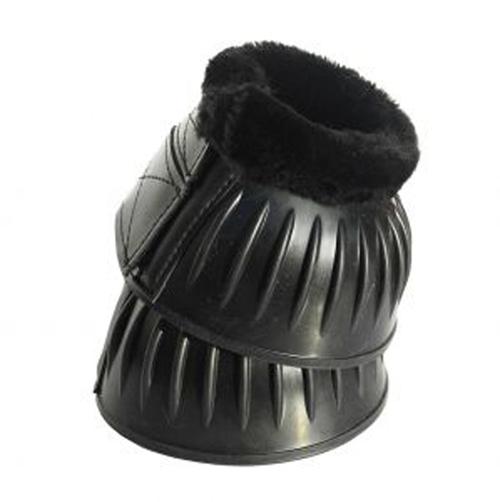 Fleece Trim Flexi Rubber Over Reach Boots