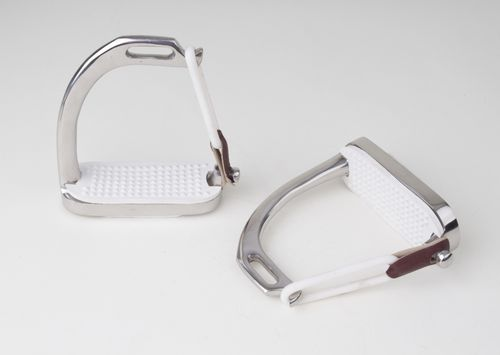 Stainless Steel Peacock Safety Irons