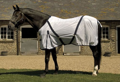 Fly Rug With Detachable Neck Cover