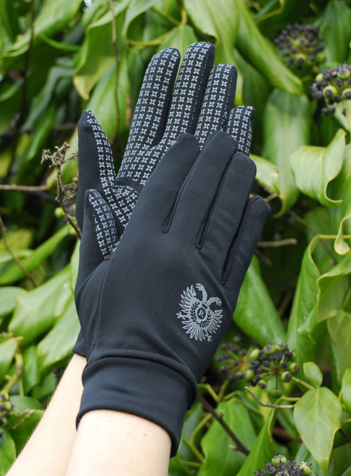 Spandex/Lycra Multi-Purpose Gloves with Silicone Palm