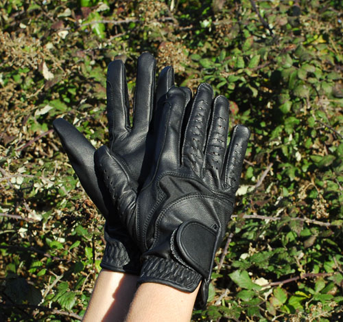 Luxe Leather Riding Gloves