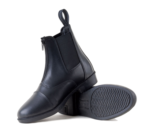 Boston Zip Up Paddock Boots