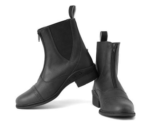 Elite Detroit Front Zip Paddock Boots - Energy Return Sole