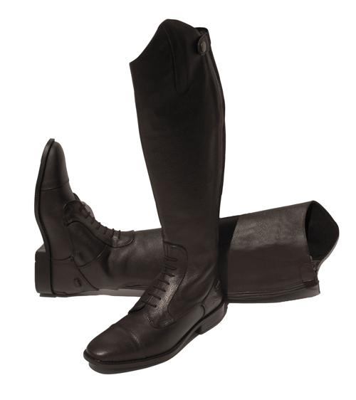 Elite Luxus Leather Riding Boots-Antique Brown