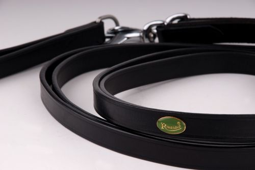 Leather Draw Reins With Elasticated Section