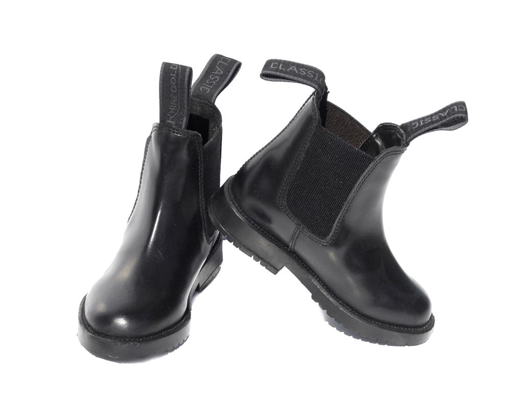 Children's Classic Leather Jodhpur Boots (Sizes UK 10-5)