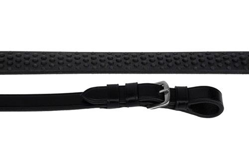 Italian Leather Rubber Grip Reins