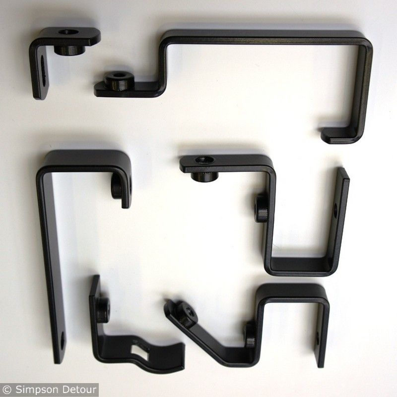 Assorted Useful Brackets Accessories