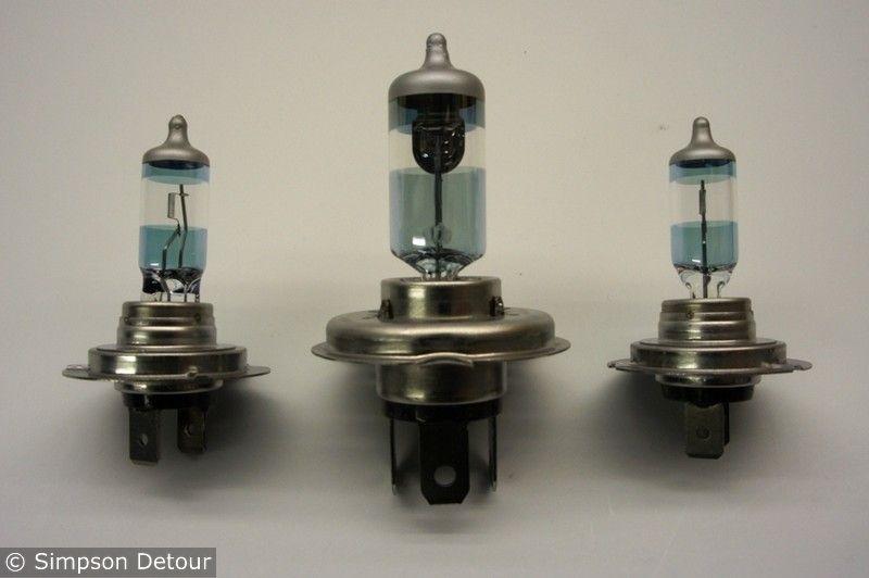 H4+2Xh7 Headlight Bulb Upgrade Bulbs