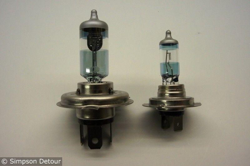 H4+H7 Headlight Bulb Upgrade Bulbs