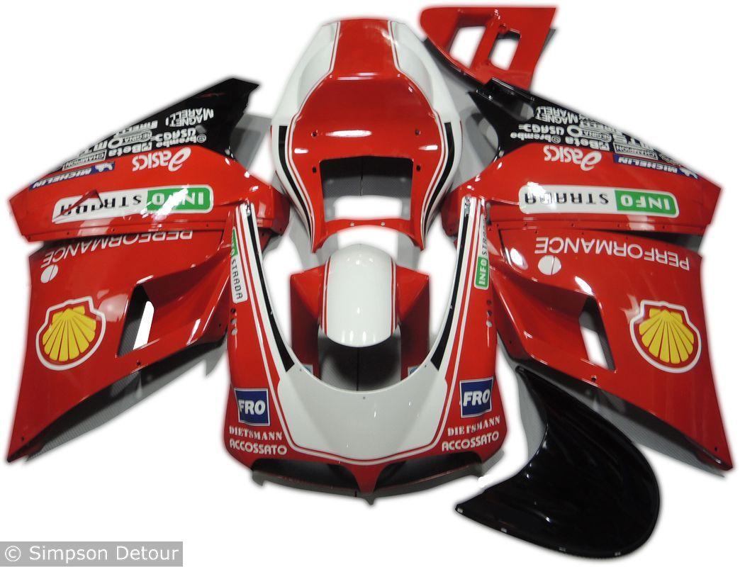 Ducati 748 02 Fairings