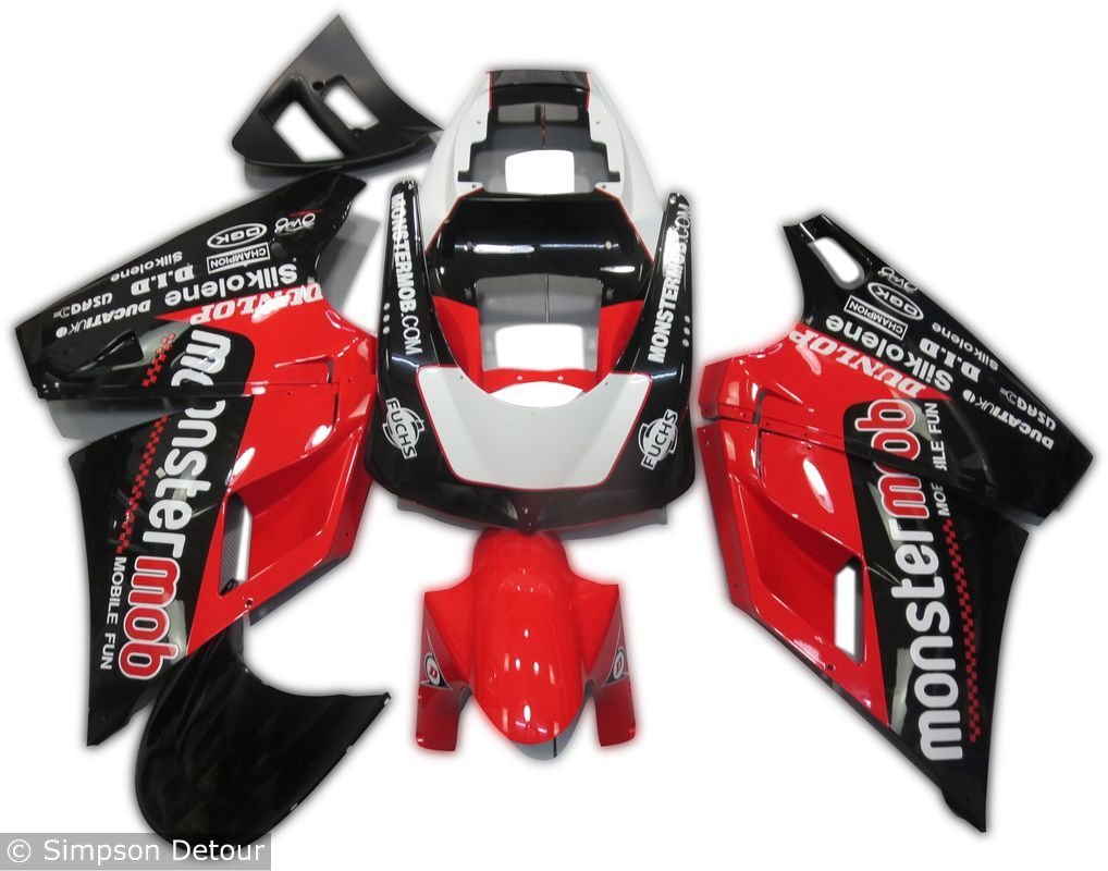 Ducati 916 02 Fairings