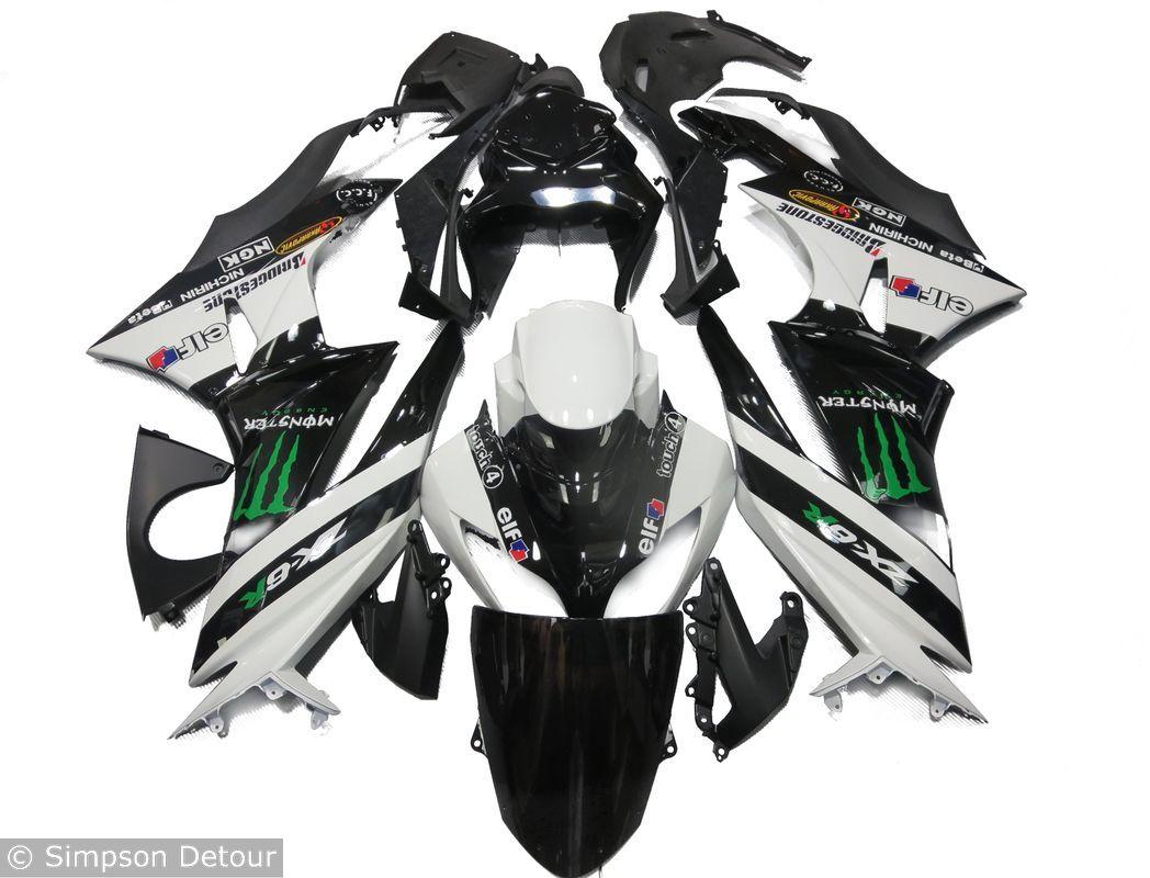 Kawasaki Zx-6R 09>12 Fairings