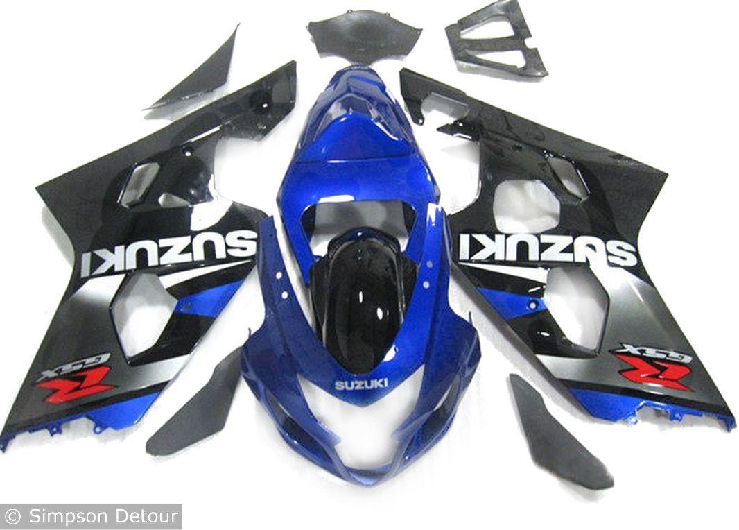 Suzuki Gsxr600 04>05 Fairings