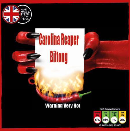 Carolina Reaper Biltong