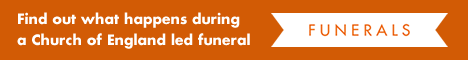 Find out what happens during a Church of England led funeral