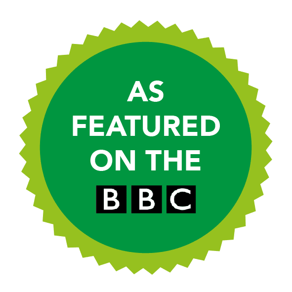 As featured on BBC television