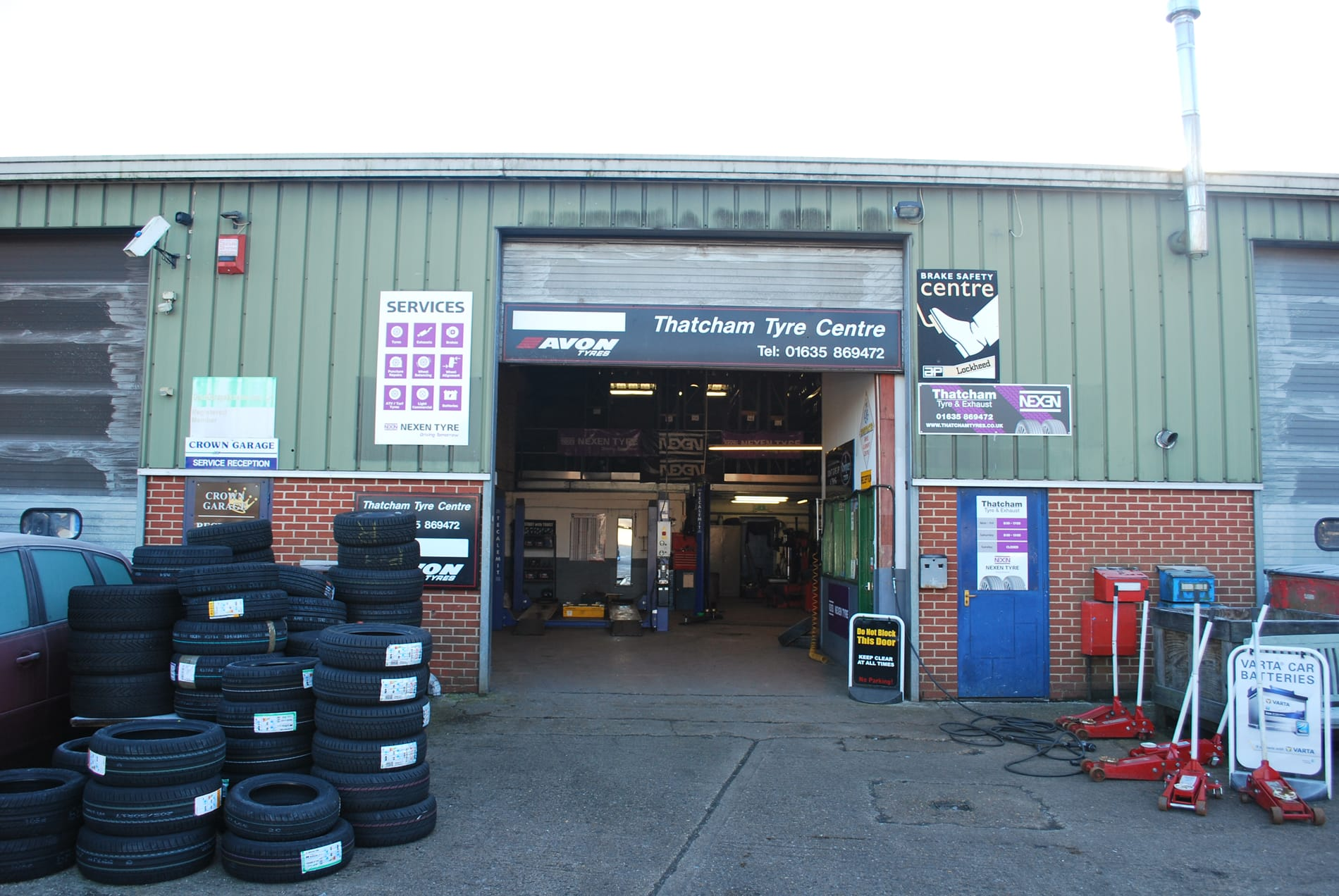 tyres and exhausts thatcham and newbury
