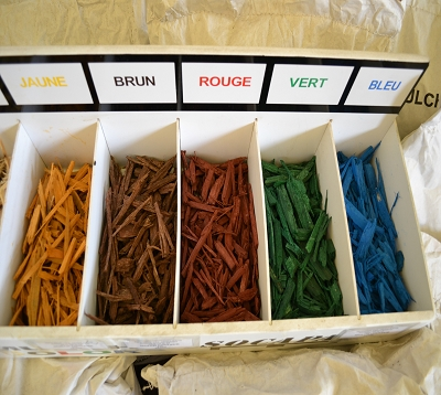 Mulch couleur
