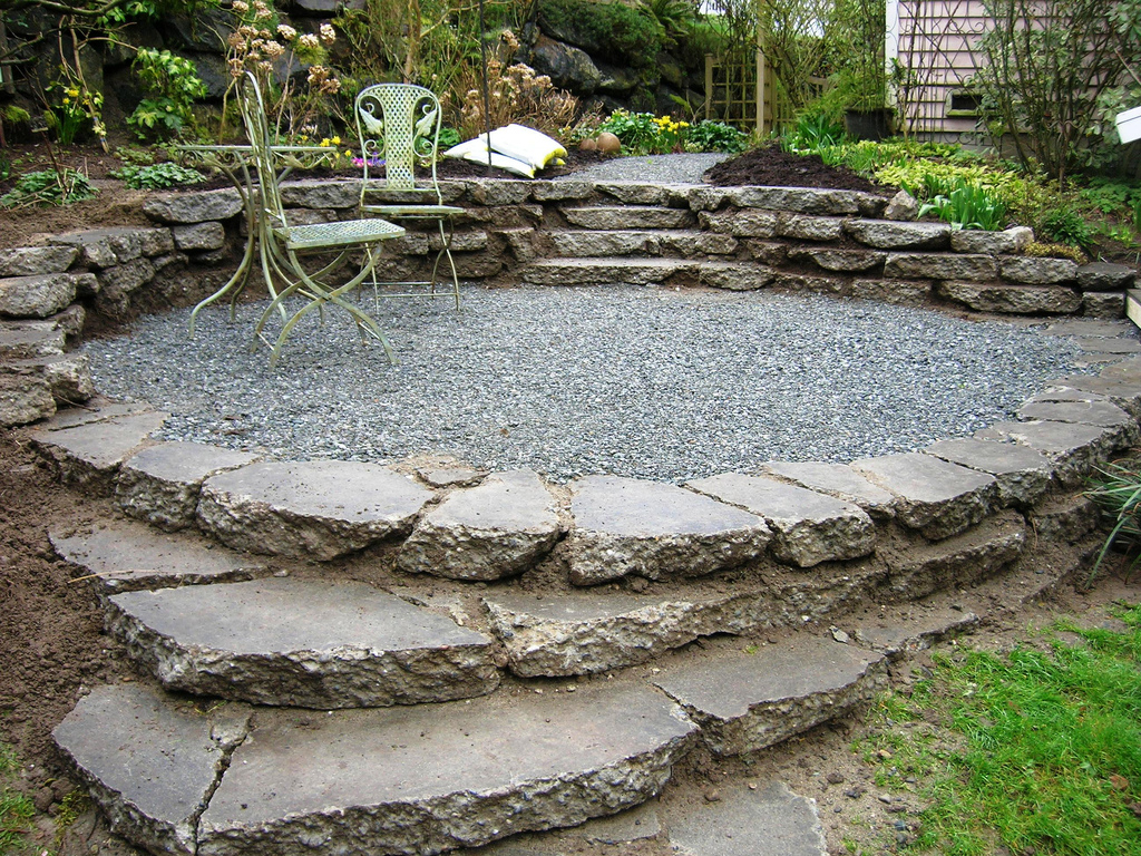 Picture of a Landscaped Garden Space