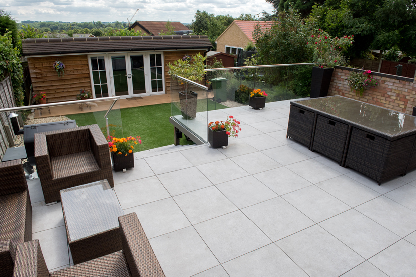 Picture of a Paved Dining Space