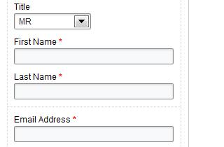 Drag and Drop Web Form Builder