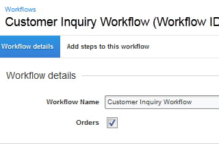 Automate business processes with workflows