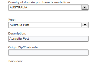 Easy billing and shipping integration