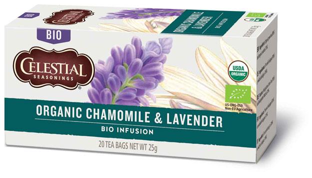 Sunita Fine Foods Celestial Seasonings Organic Chamomile & Lavender Herbal Tea