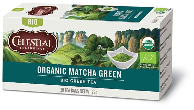 Sunita Fine Foods Celestial Seasonings Organic Matcha Green Tea