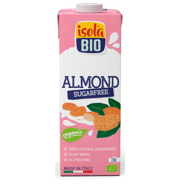 Isola Bio Organic Almond Drink Premium Unsweetened
