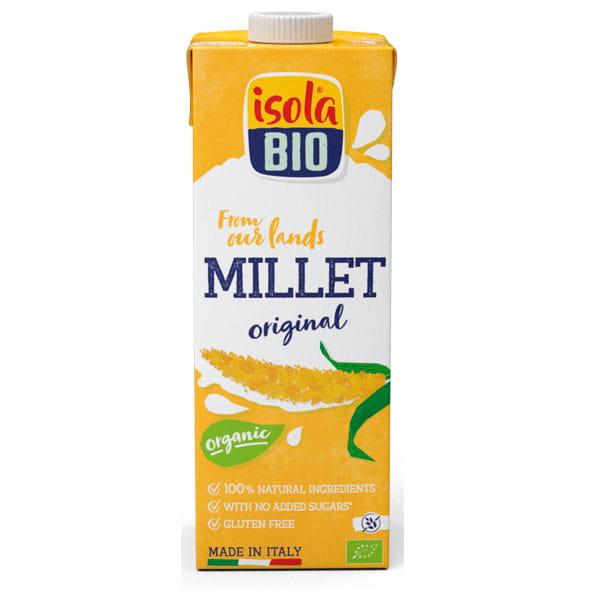 Isola Bio Organic Millet Drink Gluten Free Premium 1 ltr