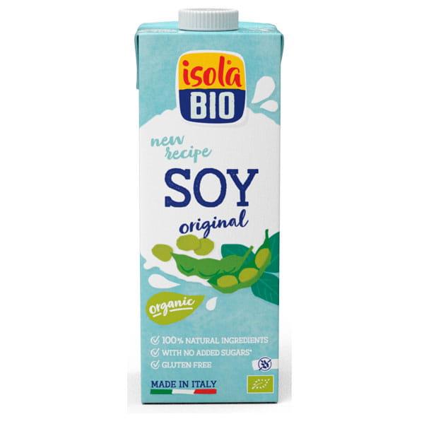 Isola Bio Organic Soya Drink Premium 1ltr and 500ml