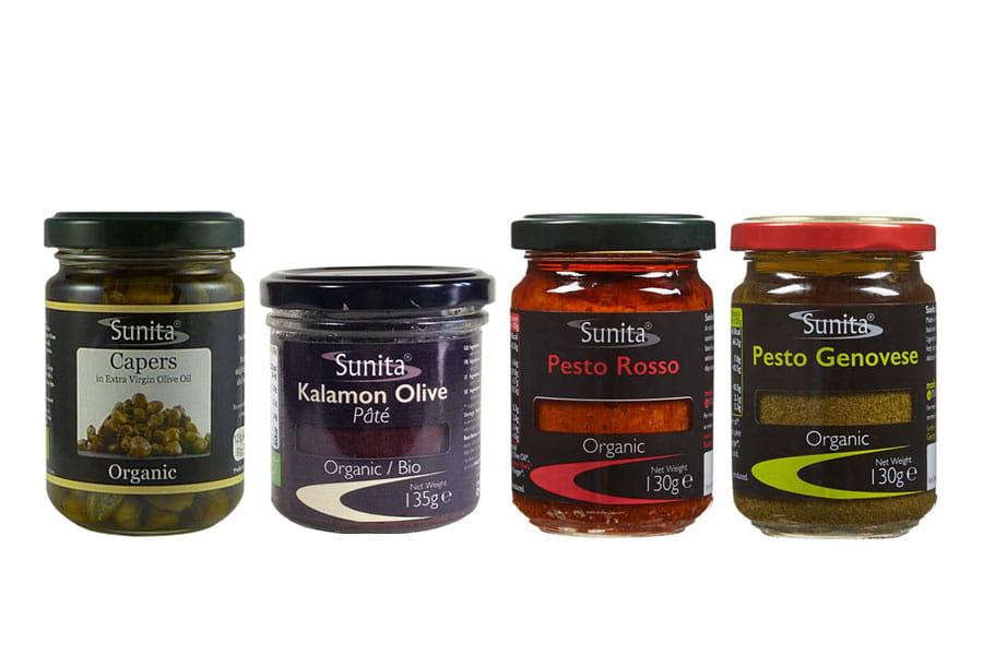 Sunita Fine Foods Range of Organic Pâté