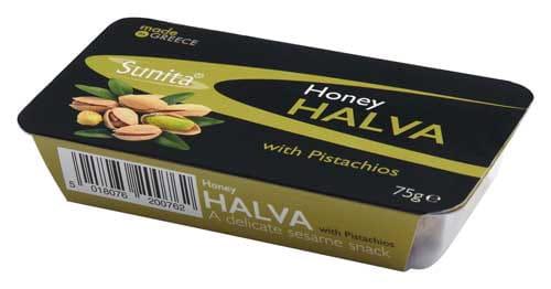 Sunita Fine Foods Honey Halva with Pistachios