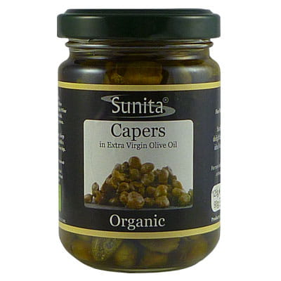 Sunita Fine Foods Organic Capers