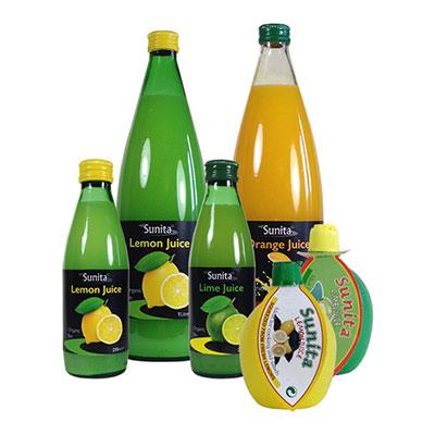 Sunita Fine Foods Organic Fruit Juices