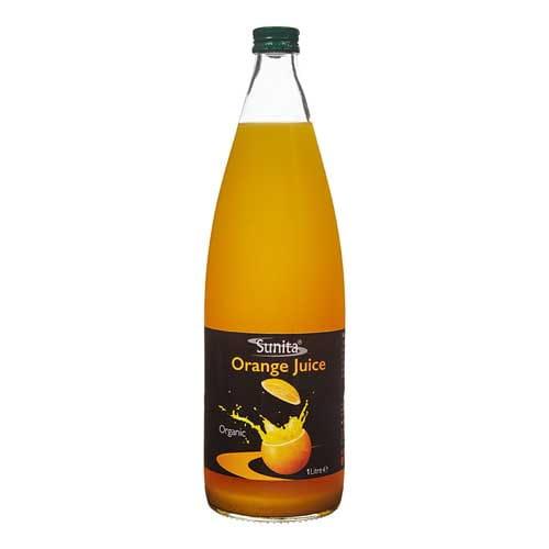 Sunita Fine Foods Organic Orange Juice 1 ltr Bottle