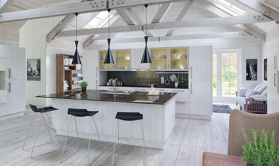 Bella Opengrain White Venice Kitchen
